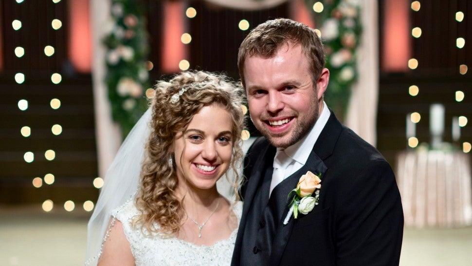 ba33b0fc63 John-David Duggar and Abbie Burnett Are Married! | Entertainment Tonight