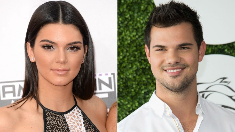 Kendall Jenner and Taylor Lautner