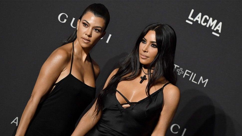 f964edb86c6 Kim Kardashian Calls Kourtney  the Most Boring  After Saying She Was ...
