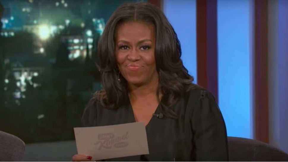 These Are the Celebrities Michelle Obama Texts the Most