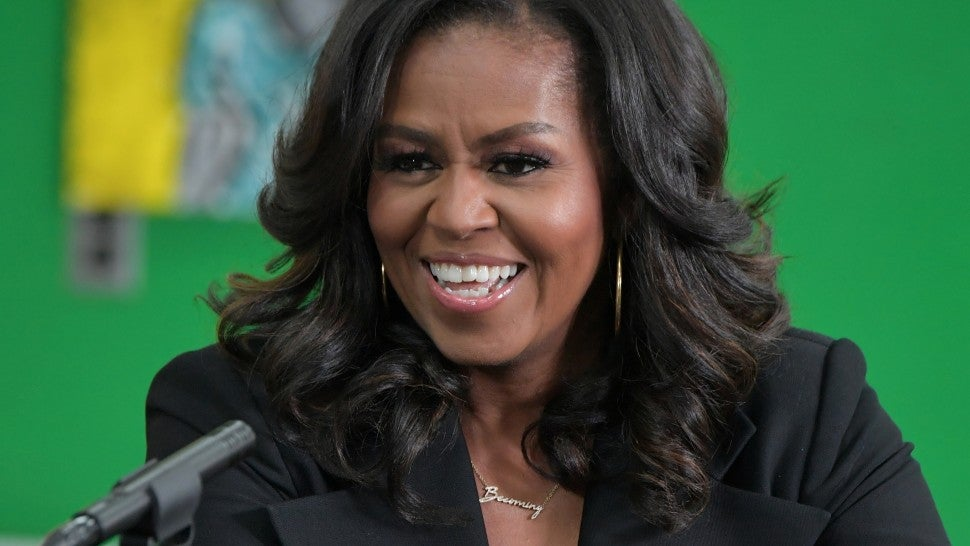 Michelle Obama stuns crowd with expletive - here's why she cursed