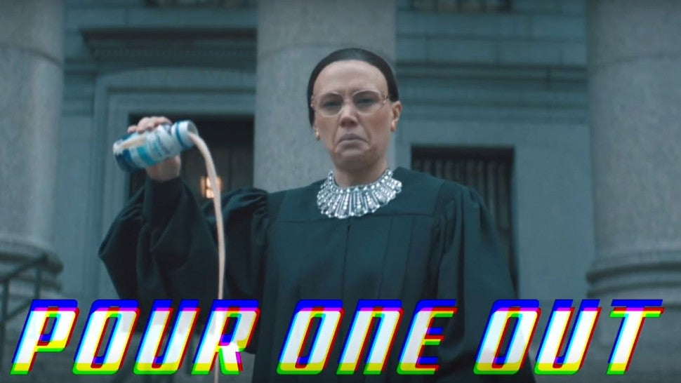 Pete Davidson Honors Ruth Bader Ginsburg With Epic Rap Music Video Tribute on 'Saturday Night Live' -- Watch!