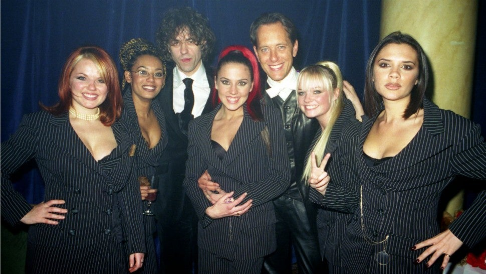 Spice Girls and Richard E. Grant