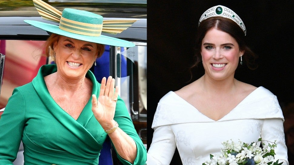 Sarah Ferguson Princess Eugenie Wedding