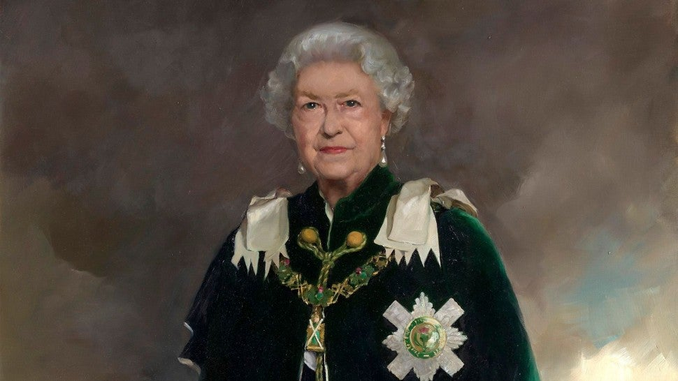 Queen Elizabeth Is Her Most Regal in New Portrait