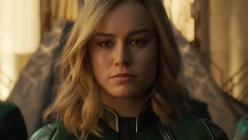 A new 'Captain Marvel' trailer will air during Monday Night Football