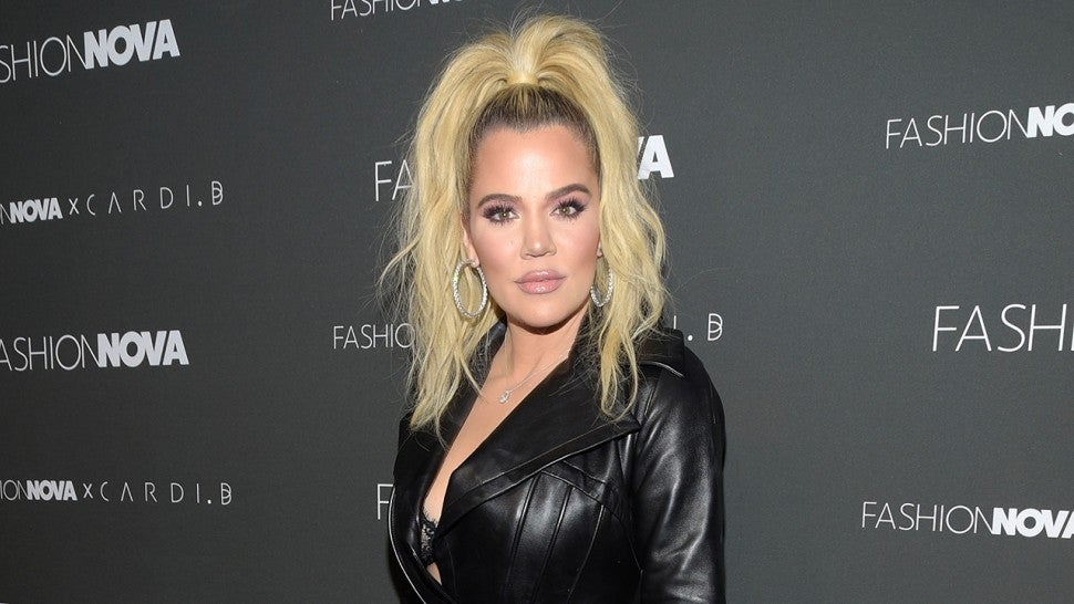 a1fc9618cdd Khloe Kardashian Showcases Stunning New Platinum Blonde  Do ...