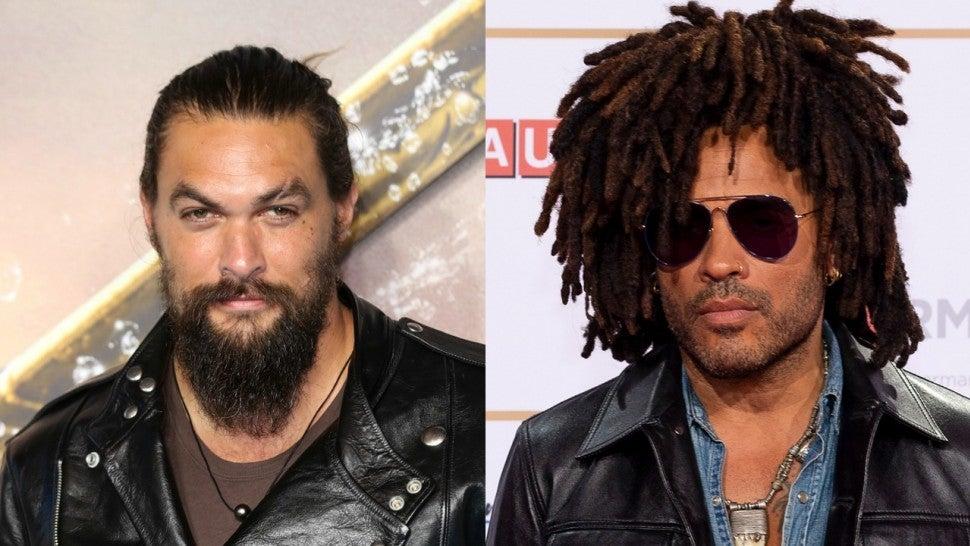Jason Momoa Gets Matching Rings With Wife Lisa Bonet's Ex-Husband Lenny Kravitz