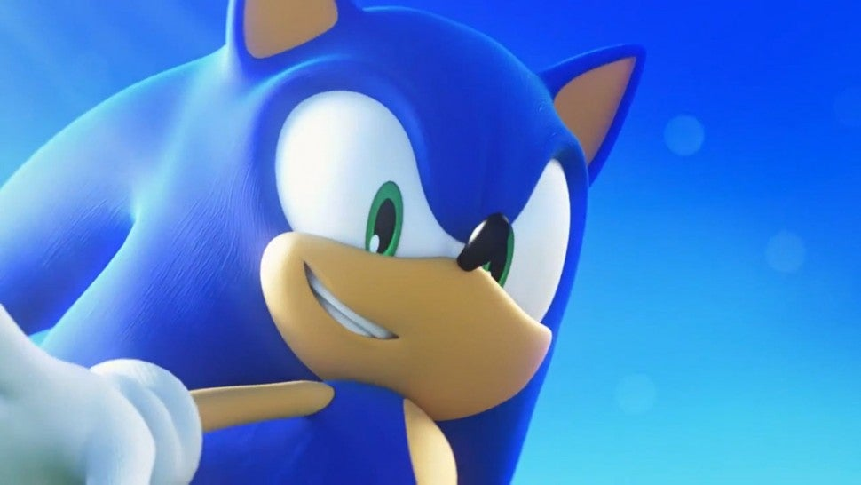 Animated Sonic the Hedgehog movie poster shows off the hero in silhouette