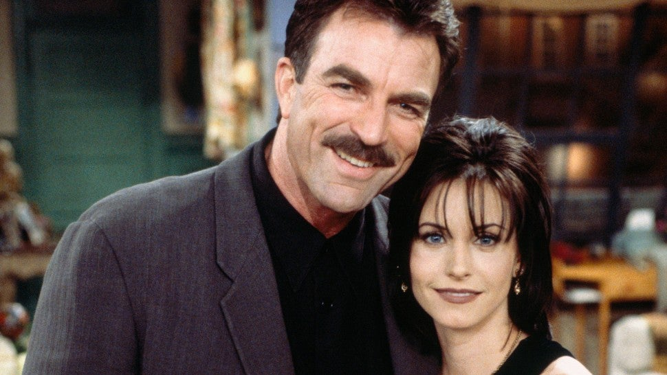 Courteney Cox and Tom Selleck Have a 'Friends' Reunion During NYC Run