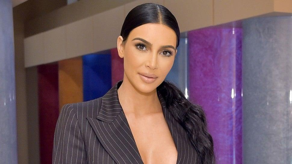 Kim Kardashian Shows off Impressive Makeup Skills in 'Vogue