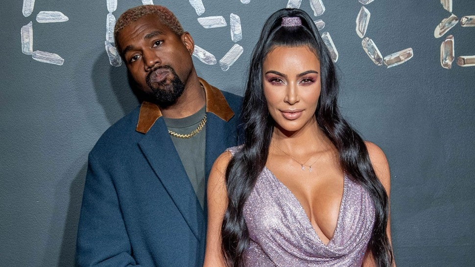 96e917c5 Kim Kardashian and Kanye West Look More In Love Than Ever at Versace ...