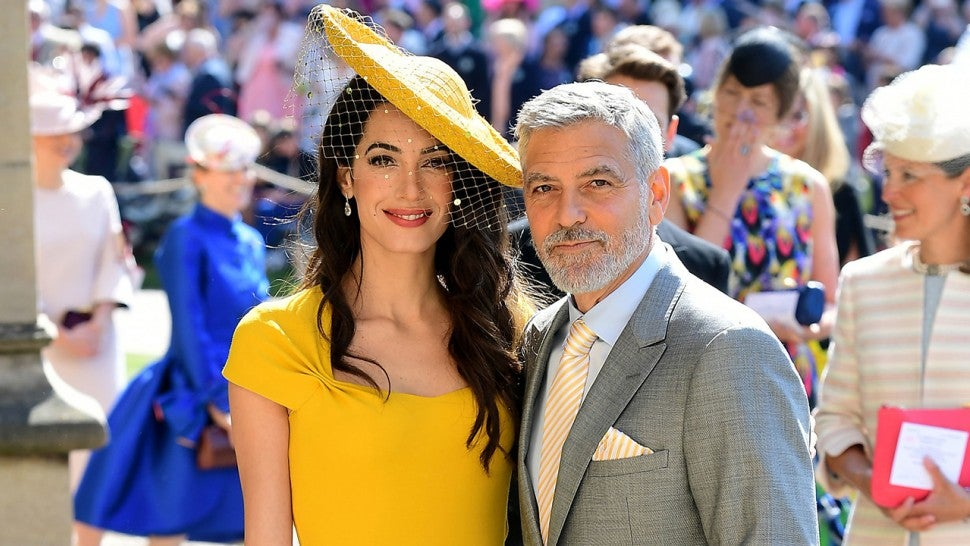 05c314f44 You Can Now Shop the Yellow Dress Amal Clooney Wore to the Royal ...