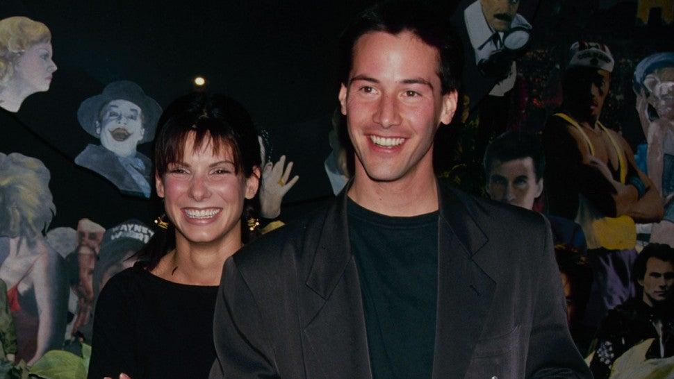 Keanu Reeves Reveals His Crush on 'Speed' Co-Star Sandra Bullock