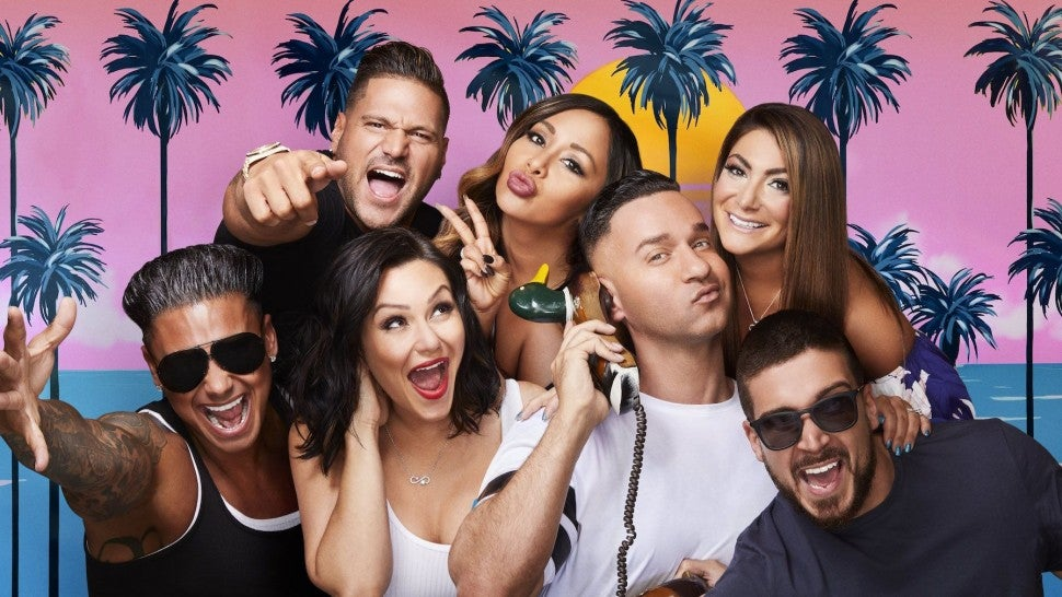 Jersey Shore Family Vacation cast photo