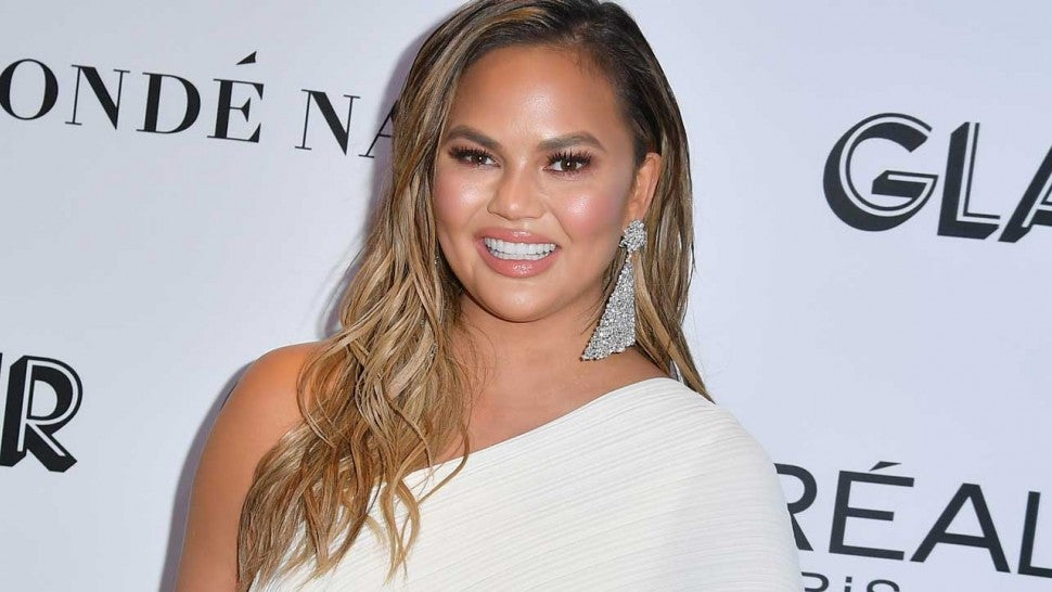 Ow! Chrissy Teigen's Gone-Viral Moment from Live NYE Special