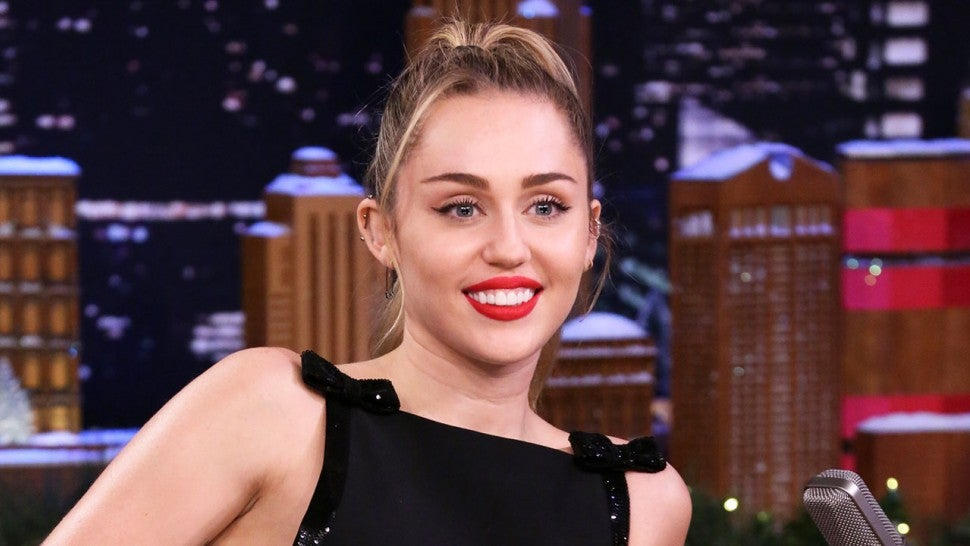 Miley Cyrus Updated The Lyrics To 'Santa Baby' With A Feminist Twist