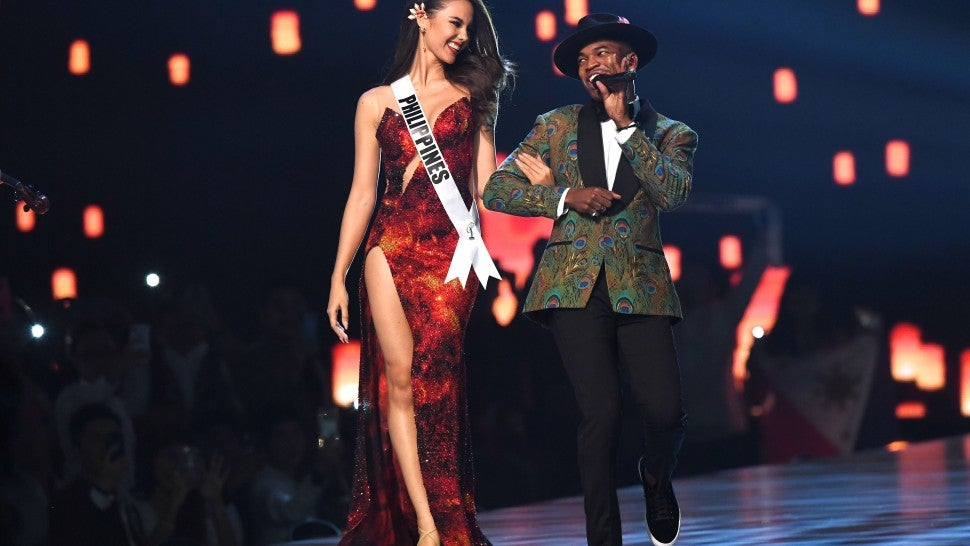 Catriona Gray and Ne-Yo