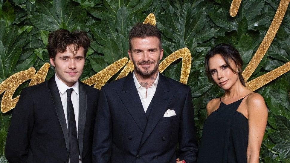 Kendall Jenner, Victoria and David Beckham attend British Fashion Awards 2018