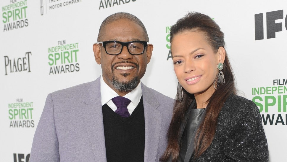 Forest Whitaker and Keisha Nash Whitaker