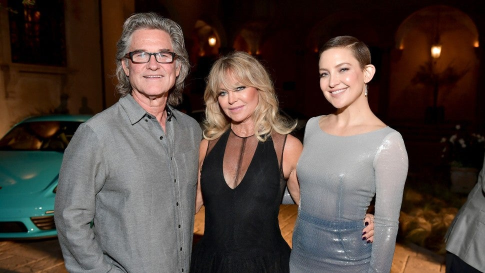 Kurt Russell, Goldie Hawn and Kate Hudson