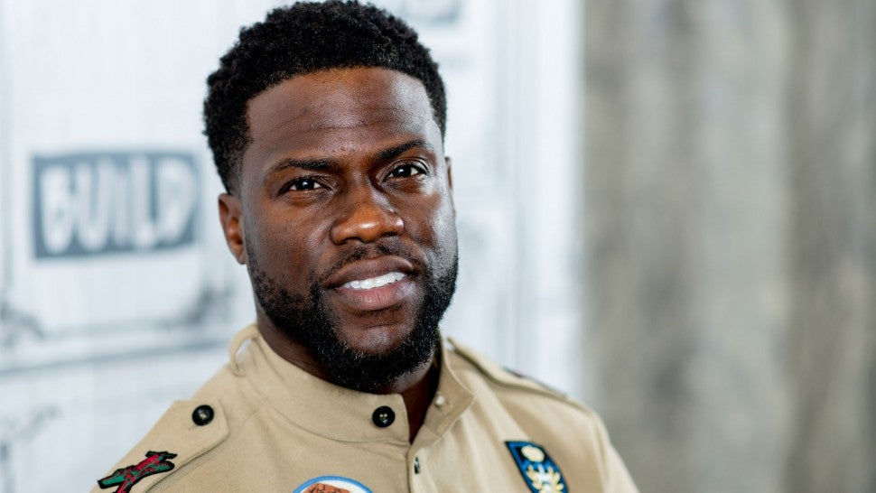 Kevin Hart Buys His Whole Team Classic Muscle Cars To Celebrate End