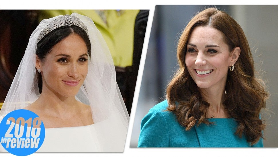 The Best Meghan Markle And Kate Middleton Looks Of 2018