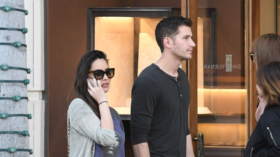 Olivia Munn is spotted shopping with her new guy Tucker Roberts in Los Angeles. Munn held hands with the 28 year old CEO as they left the high end Celine boutique with shopping bags. The 38 year old actress carried a Chanel purse and wore a grey cardigan, black t-shirt, and dark jeans.