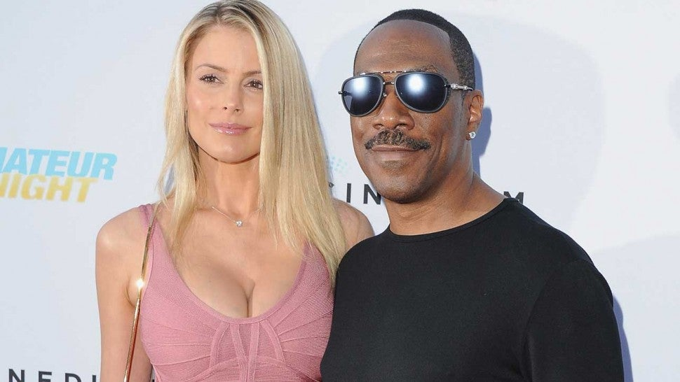 Eddie Murphy and fiancee Paige Butcher