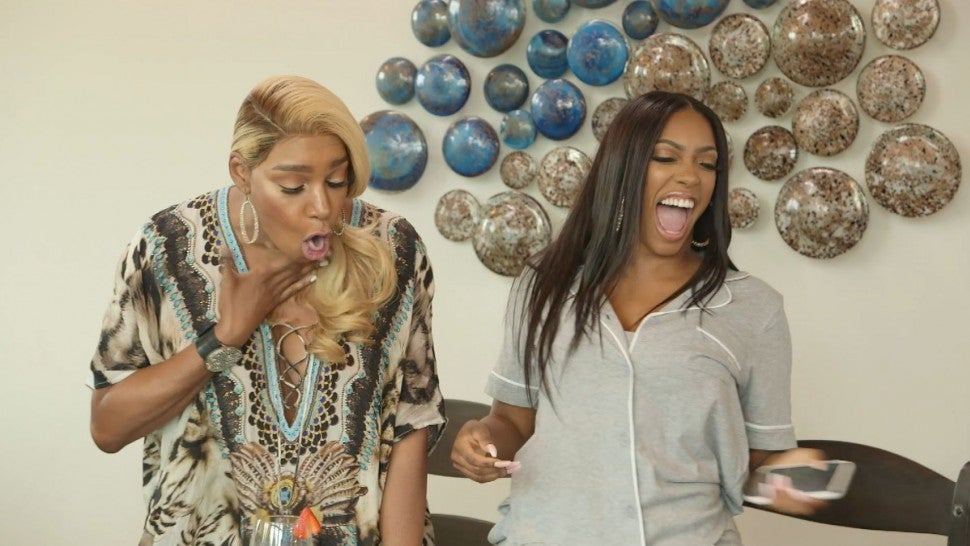 NeNe Leakes and Porsha Williams surprises their 'Real Housewives of Atlanta' co-stars with a competition.