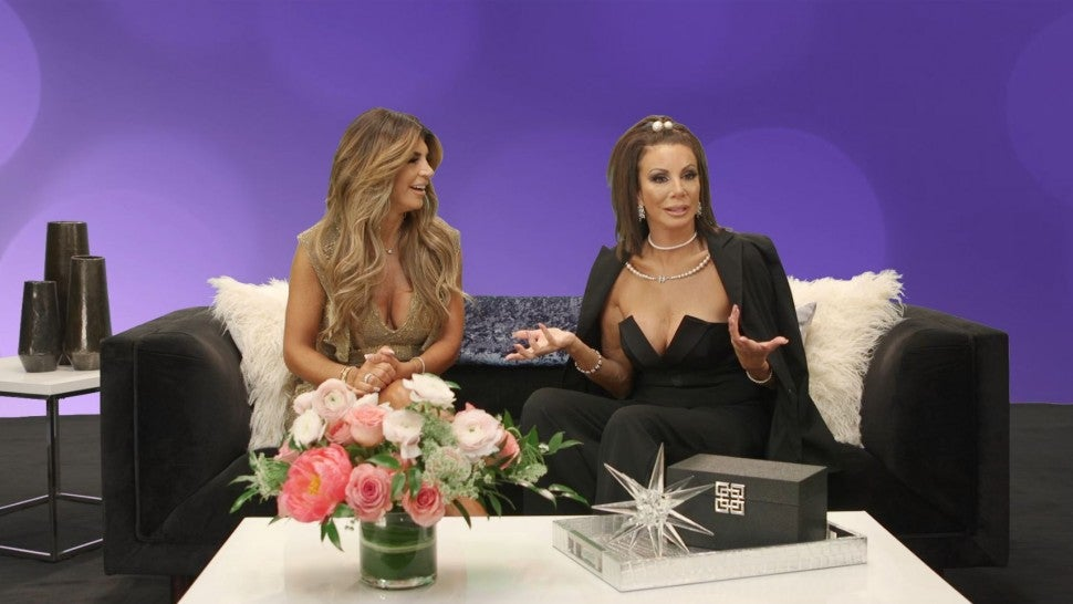 Teresa Giudice and Danielle Staub on 'The Real Housewives of New Jersey' after-show.