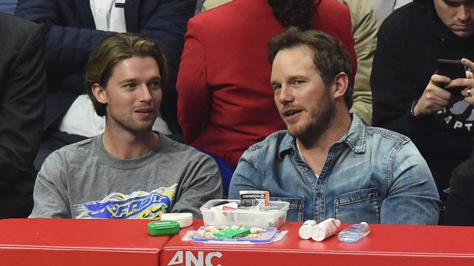 Patrick Schwarzenegger and Chris Pratt