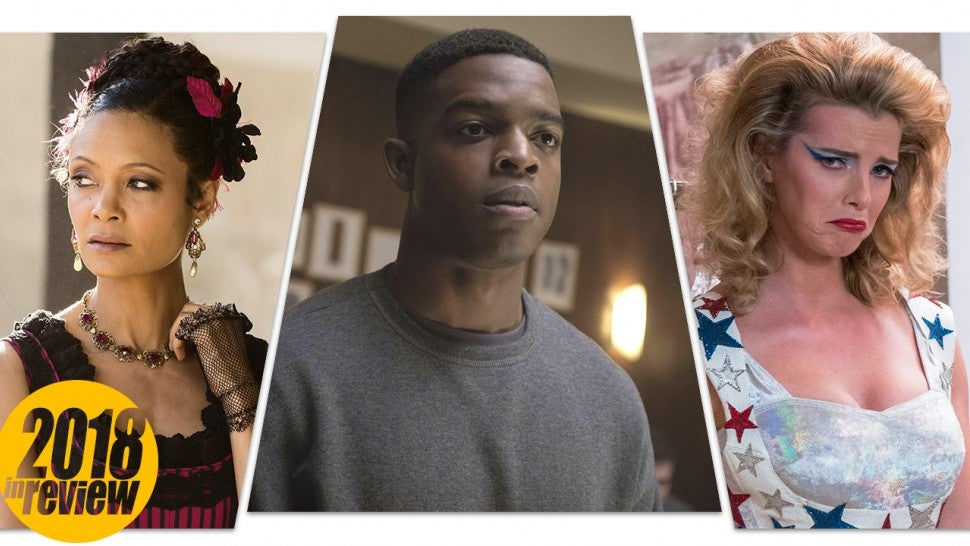 ET's TV Scene Stealers of 2018: Thandie Newton, Stephan James, Betty Gilpin