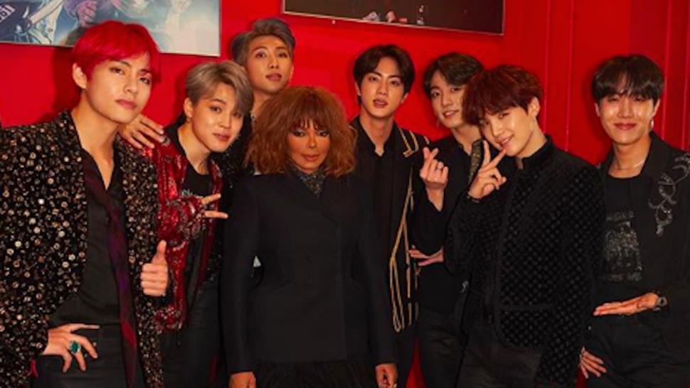BTS Can't Keep Their Cool Meeting Janet Jackson -- Watch