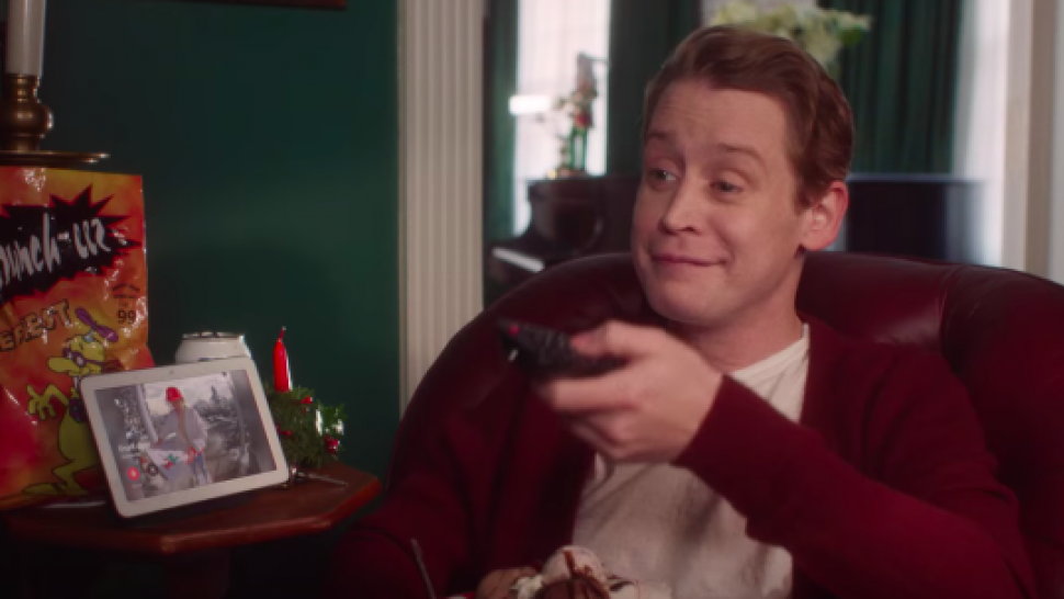 Macaulay Culkin Reprises His 'Home Alone' Role for Google Ad