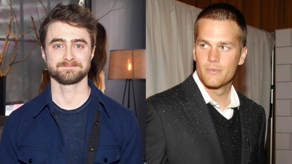 Daniel Radcliffe Calls Out Tom Brady for His 'Make America