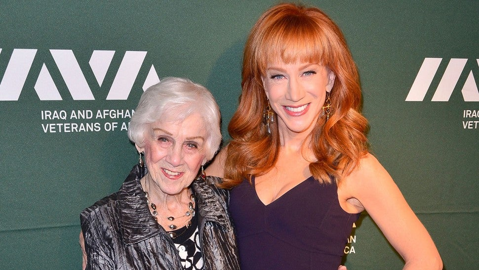 Kathy Griffin Honors Mother on Her 99th Birthday But Reveals 'Her Dementia Is Worsening'