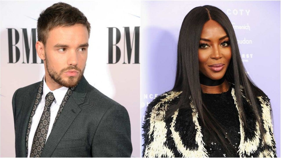 Image result for Liam Payne and Naomi Campbell
