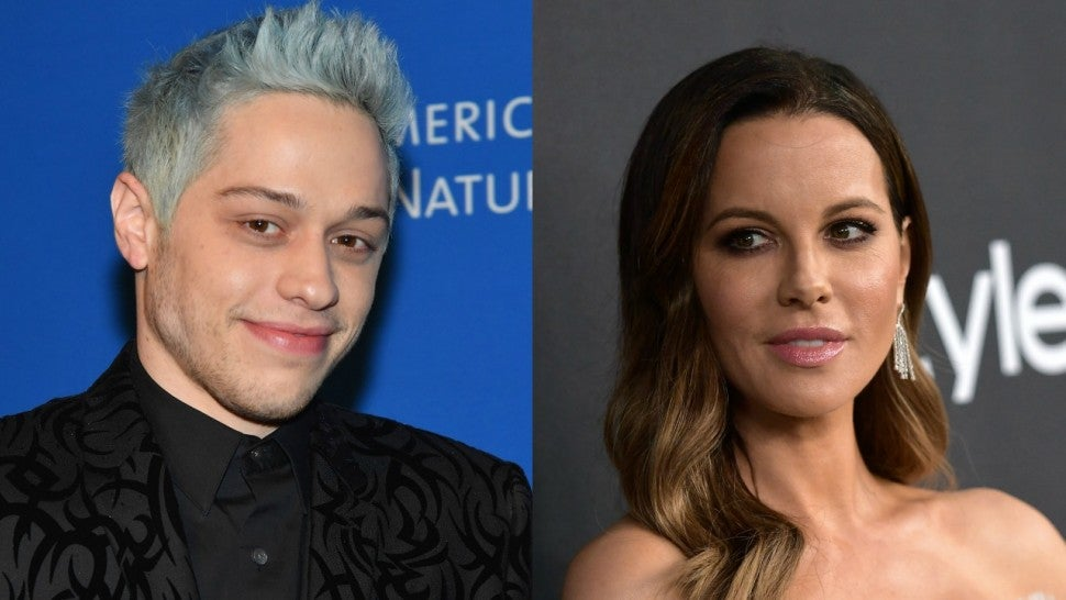 Kate Beckinsale and Pete Davidson Have Dinner with Her Family -- See the Pic!
