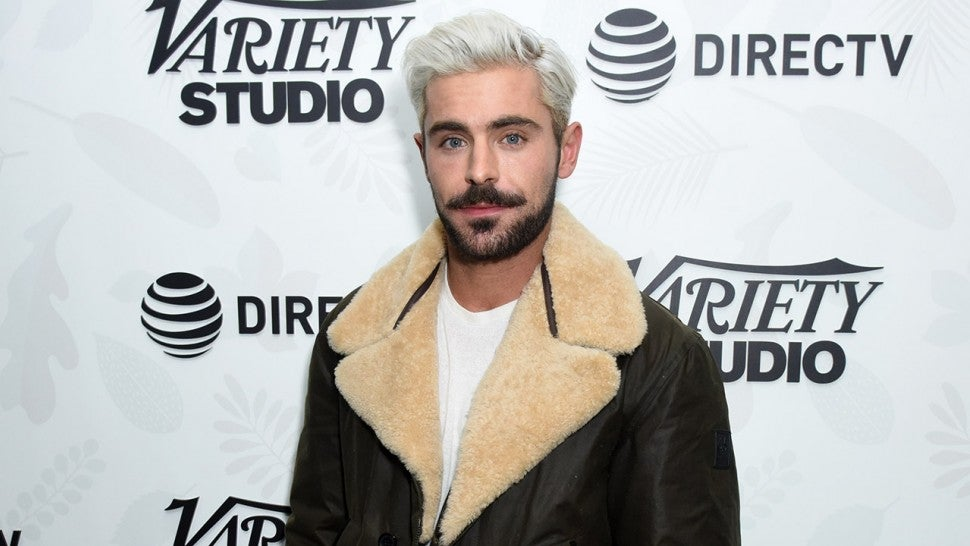 Zac Efron Is Super Platinum Blonde Now And It S Not For A Movie Role