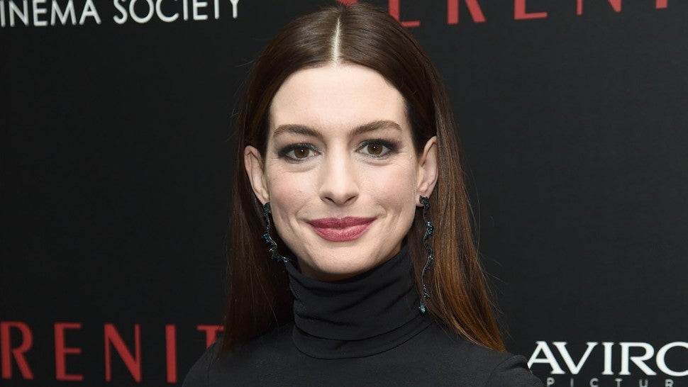 Anne Hathaway at serenity screening