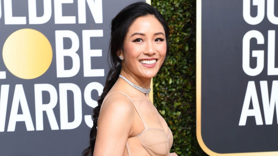 Constance Wu at 2019 golden globes
