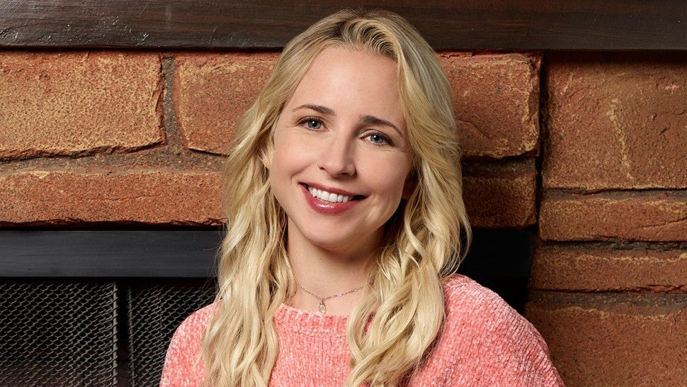 Lecy Goranson - The Conners press photo