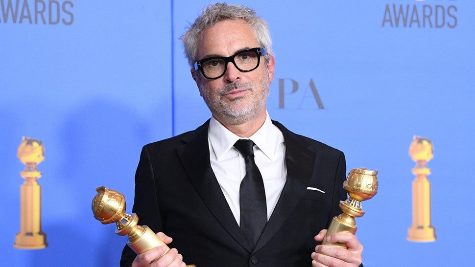 Alfonso Cuaron Wins Best Director For Roma At 2019 Golden Globes