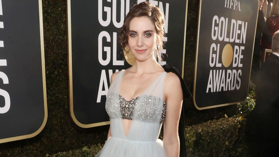Alison Brie Is a Complete Dream in Blue at the 2019 Golden Globes