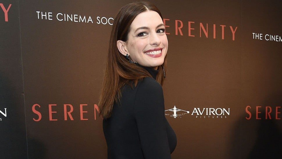 Anne Hathaway pokes fun at her Oscars hosting gig with Instagram caption