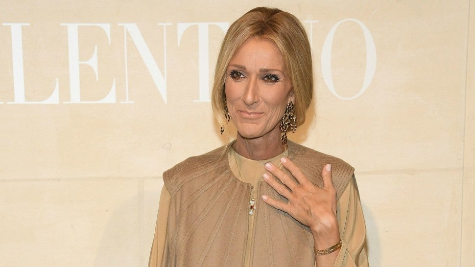 Celine Dion Is Brought to Tears During the Valentino Couture Fashion Show -- Watch the Emotional Moment