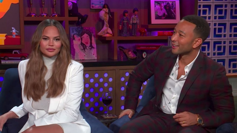 Chrissy Teigen and John Legend Got Into a 'Major Blowout' Fight at Kim and Kanye's Wedding