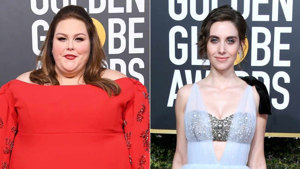 Chrissy Metz shuts down rumour about insult to Alison Brie — Golden Globes