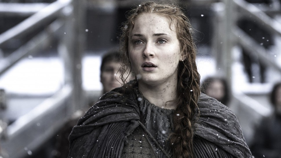Game of Thrones banned Turner from washing her hair